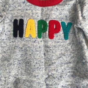GAP One Pieces - Happy Footless Onesie